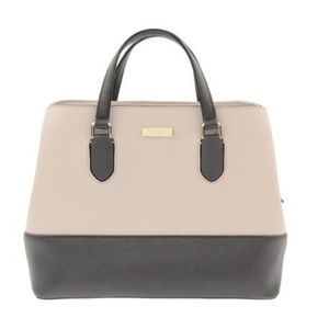 KATE SPADE LAUREL WAY EVANGELIE LEATHER SATCHEL